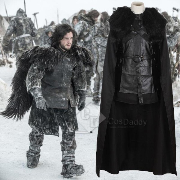 Game of Thrones 5 Jon Snow Cosplay Costume
