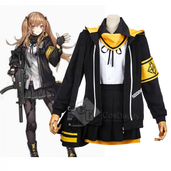 Girls' Frontline UMP45 Dress Uniform Cosplay Costu...