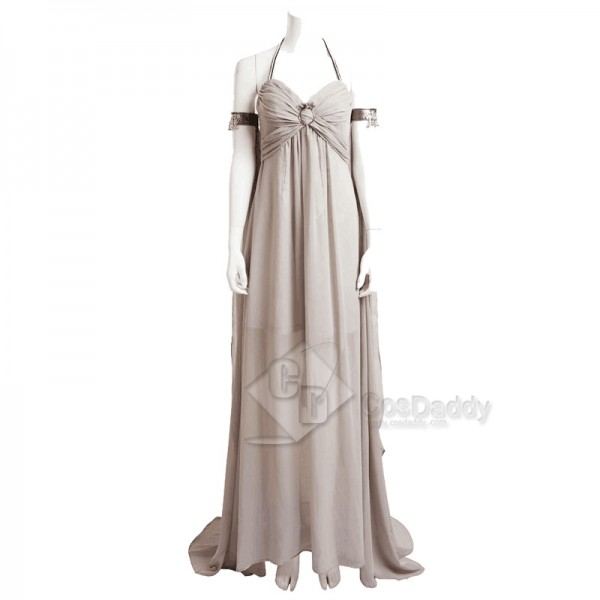 Game of Thrones Daenerys Targaryen Party Long Dress Cospaly Costume