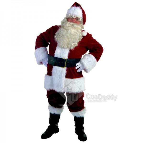 Men's Christmas Santa Claus Party Costume