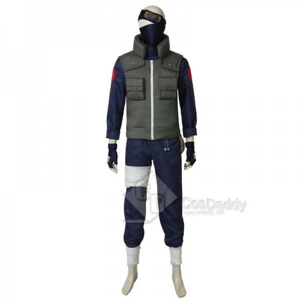NARUTO Kakashi Hatake Cosplay Halloween Costume Mens for Sale