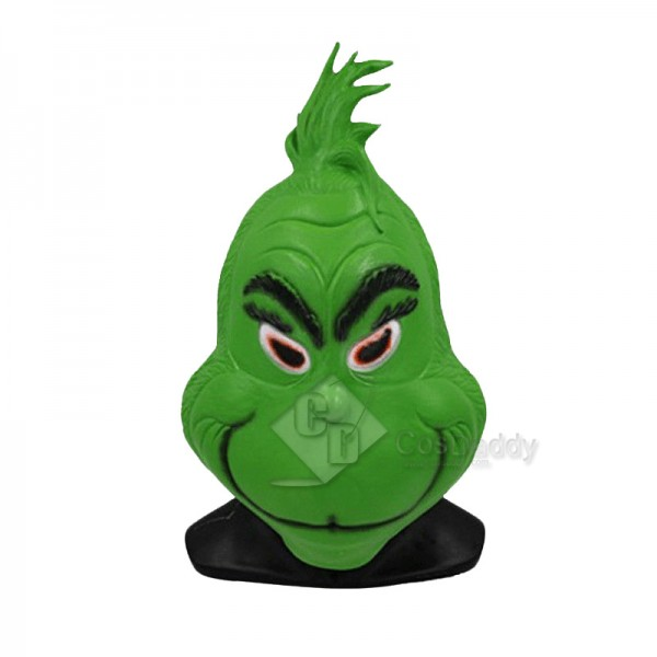 The Grinch Mask Helmet Christmas Costume Props