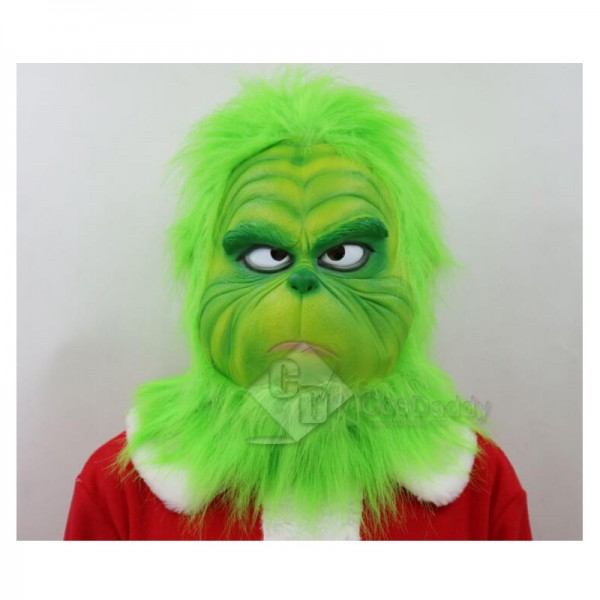 How the Grinch Stole Christmas The Grinch Mask Hel...