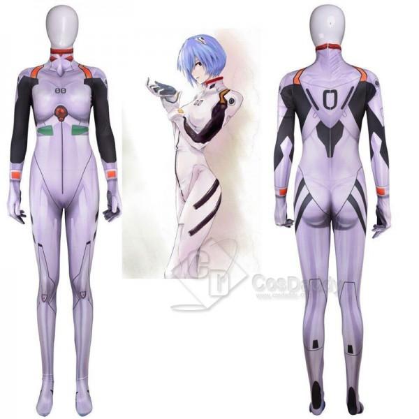 EVA Neon Genesis Evangelion Ayanami Rei Zentai Jum...