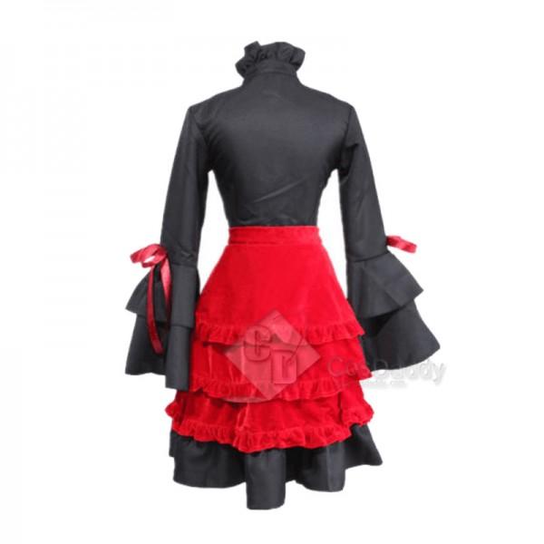 K RETURN OF KINGS 2nd Second Kushina Anna Lolita Dress Cosplay Costume