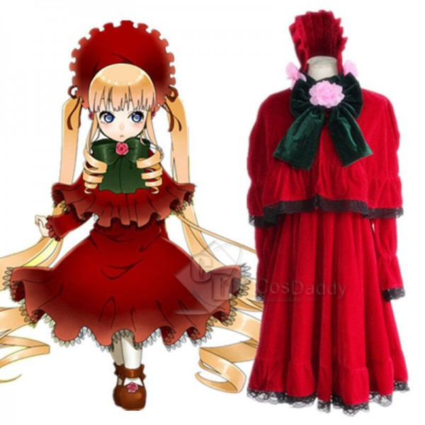 Rozen Maiden Shin ku Reiner Rubin Lolita Dress Cos...