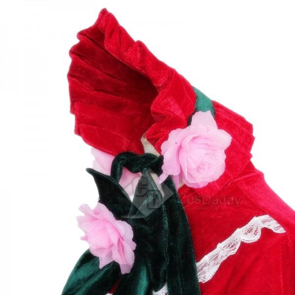 Rozen Maiden Shin ku Reiner Rubin Lolita Dress Cosplay Costume