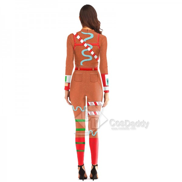 Fortnite Merry Marauder Carnevale Jumpsuit Cosplay Costume
