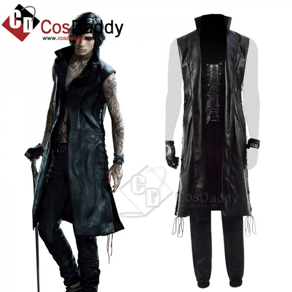 Devil May Cry 5 DMC 5 V Mysterious Man Cosplay Cos...