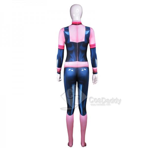 My Hero Academia Ochaco Uraraka Zentai Jumpsuit Cosplay Costume