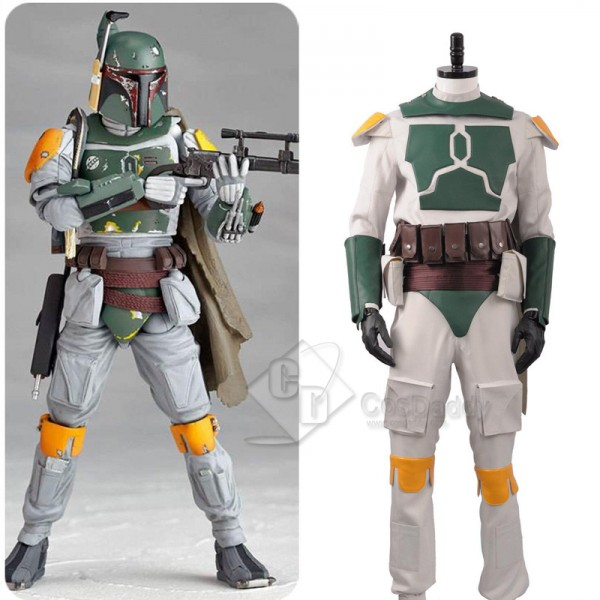 Star Wars Boba Fett Superhero Fighter Suit Cosplay...