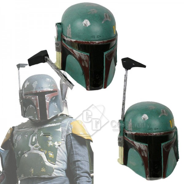Star Wars Boba Fett Cosplay Helmet Mask