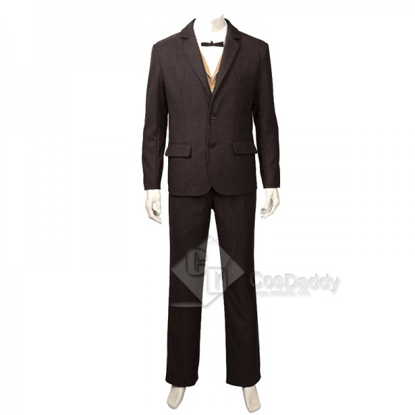 Fantastic Beasts The Crimes of Grindelwald Newt Scamander Cosplay Costume
