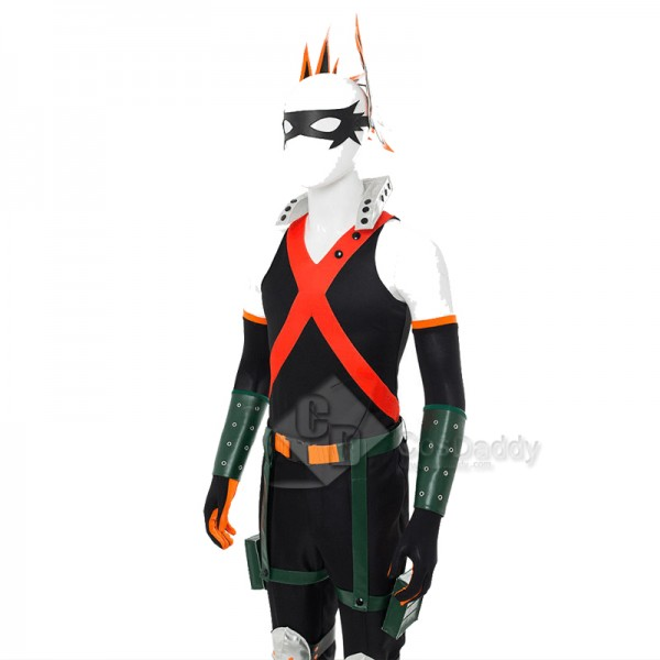 My Hero Academia Bakugou Katsuki Cosplay Costume