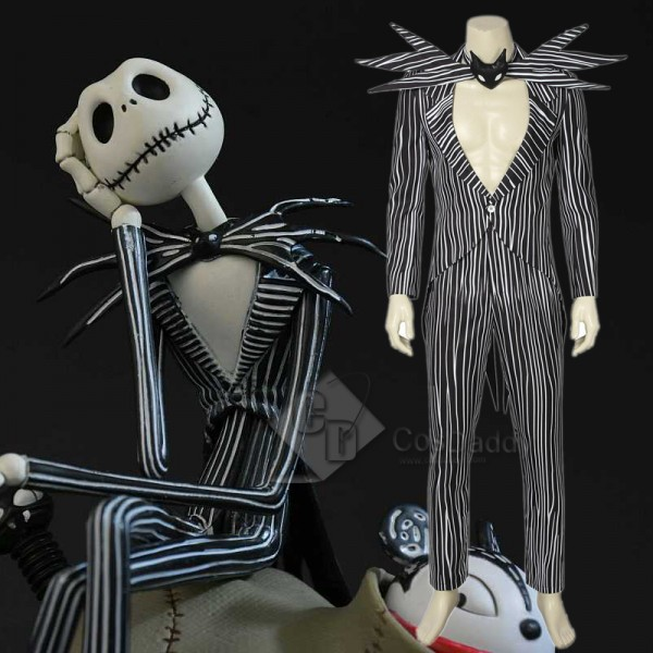 The Nightmare Before Christmas Skull Jack Skelling...