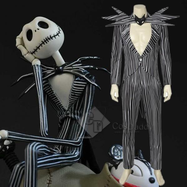 The Nightmare Before Christmas Skull Jack Skelling...