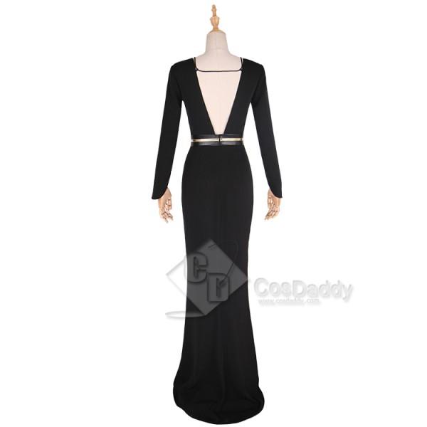 Solo A Star Wars Story Qi'Ra Black Dress Cosplay Costume