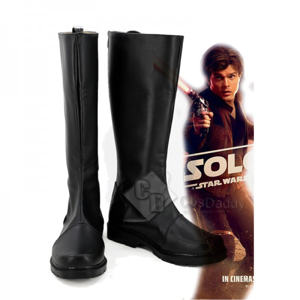 Solo A Star Wars Story Han Solo Boots Shoes Cospla...