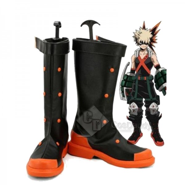 My Hero Academia Bakugou Katsuki Shoes Boots Cospl...