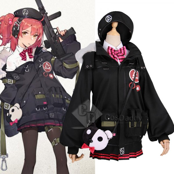 Girls Frontline mp7 Cosplay Costume