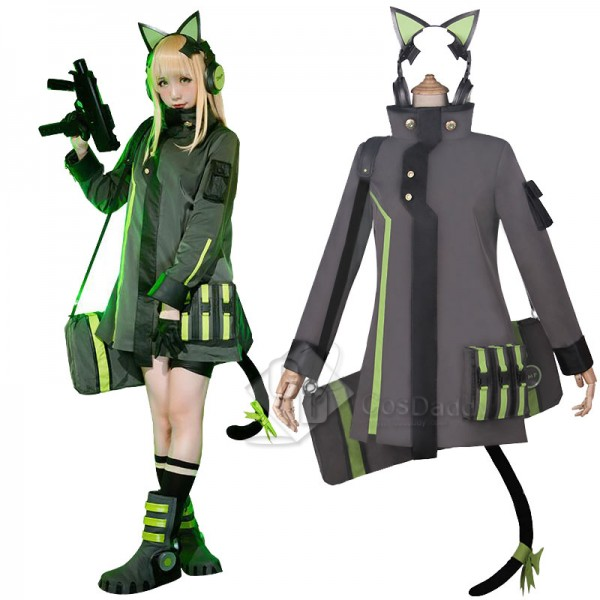Girls Frontline TMP Cosplay Costume