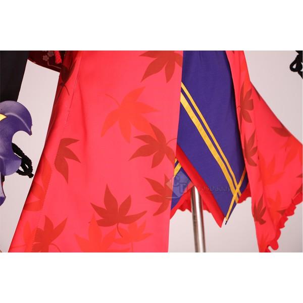 Fate Grand Order FGO Miyamoto Musashi Cosplay Costume