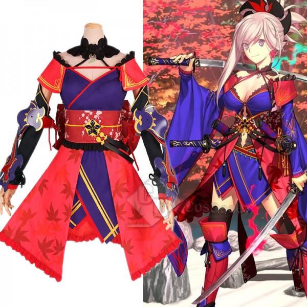 Fate Grand Order FGO Miyamoto Musashi Cosplay Cost...