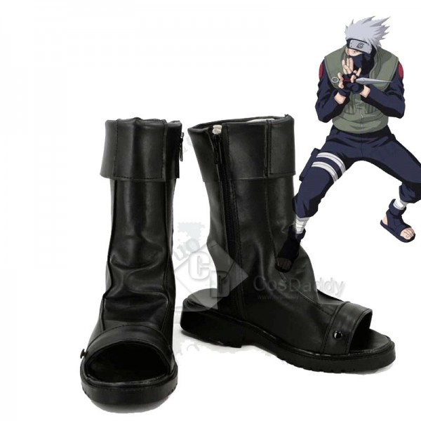 NARUTO Kakashi Hatake Cosplay Shoes Boots