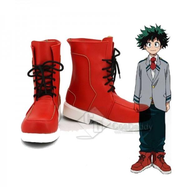 My Hero Academia Izuku Midoriya Cosplay Shoes Boot...