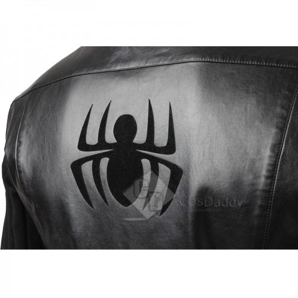 Spider-Man: Into the Spider-Verse Spiderman Noir Costume Mask Cosplay