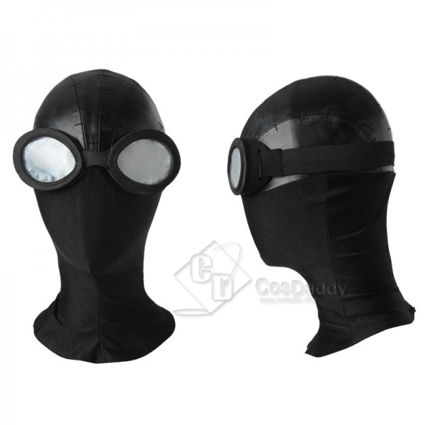 Spider-Man: Into the Spider-Verse Spiderman Noir Costume Mask Cosplay