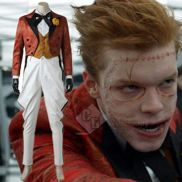 Gotham Joker  Jerome Valeska Cosplay Costume