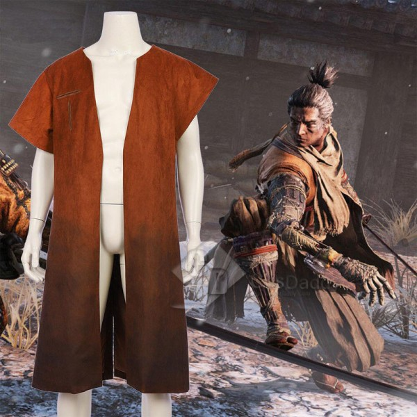 Sekiro: Shadows Die Twice Sekiro Vest Casual Coat Cosplay Costume