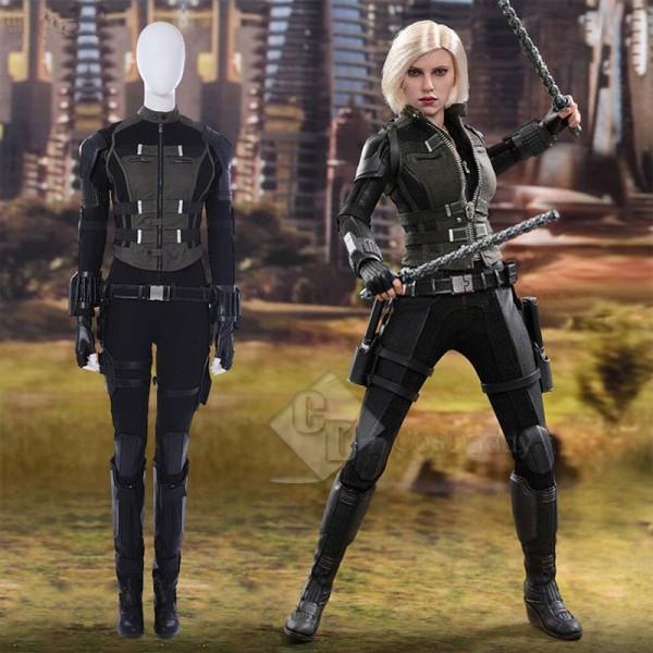 Avengers: Infinity War Black Widow Natasha Romanof...
