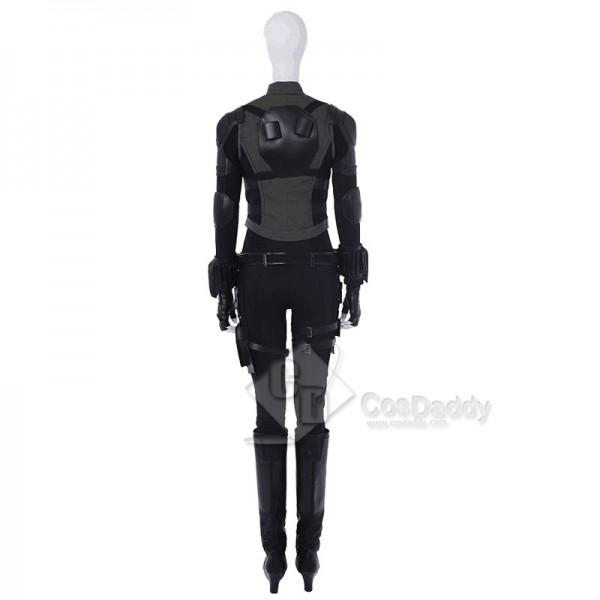 Avengers: Infinity War Black Widow Natasha Romanoff Cosplay Costume