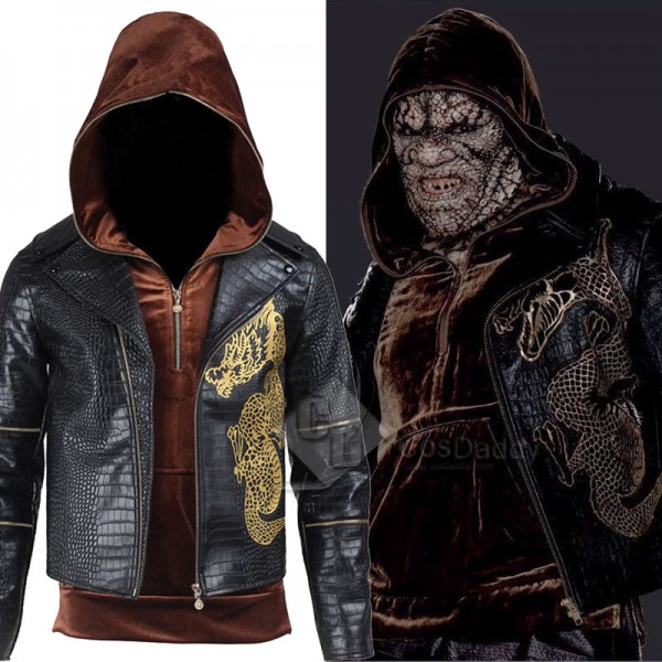 Suicide Squad Killer Croc Waylon Jones Cosplay Cos...