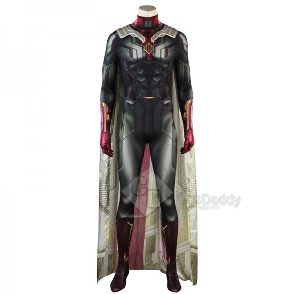 Avengers: Infinity War Superhero Vision Cosplay Cosplay Costume