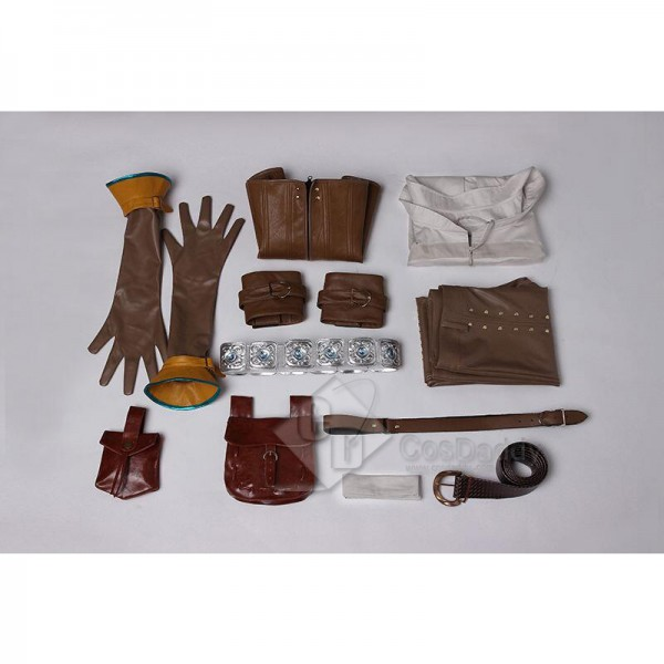 The Witcher 3: Wild Hunt Cirilla Fiona Ciri Cosplay Costume