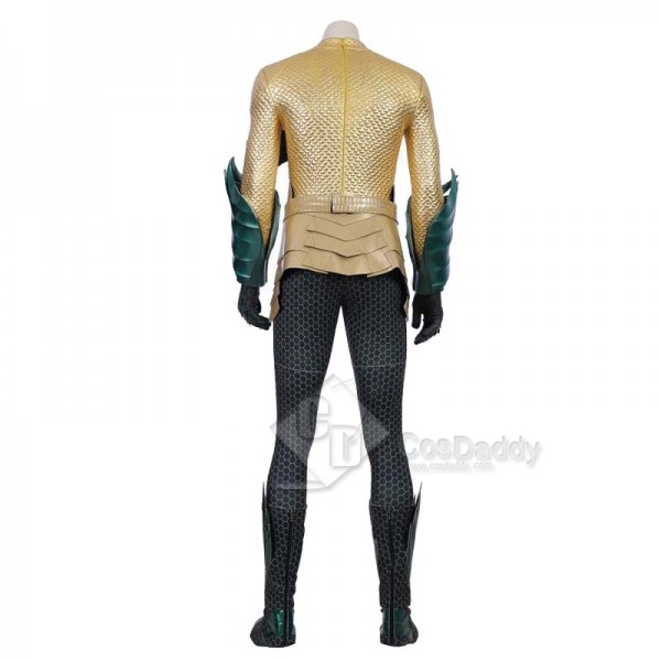 Aquaman (2018) Movie Arthur Curry Cosplay Costume