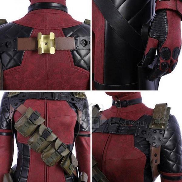 Deadpool Lady Women Deadpool Cosplay Costume