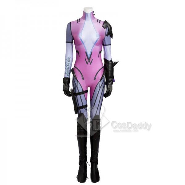 Overwatch OW Widowmaker Amelie Lacroix Cosplay Costume