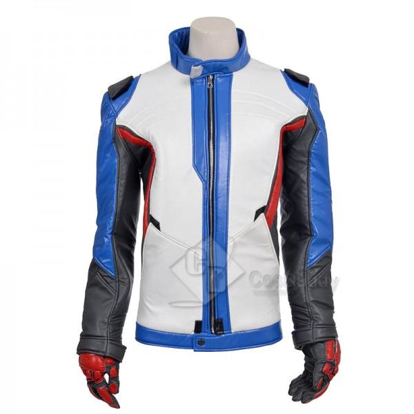 Overwatch OW Soldier 76 Coat Cosplay Costume