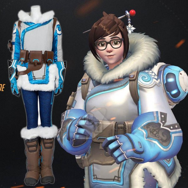 Overwatch OW Mei Cosplay Costume