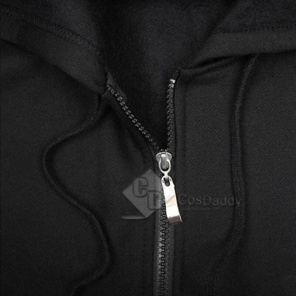 Mass Effect 3 John·Shepard N7 Thick Zipper Hoodie Sweatshirt Cosplay Costume