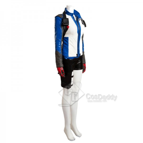 Overwatch OW Soldier 76 Women Cosplay Costume