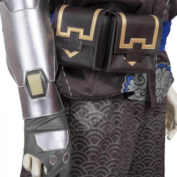 Overwatch OW Shimada Hanzo Cosplay Costume