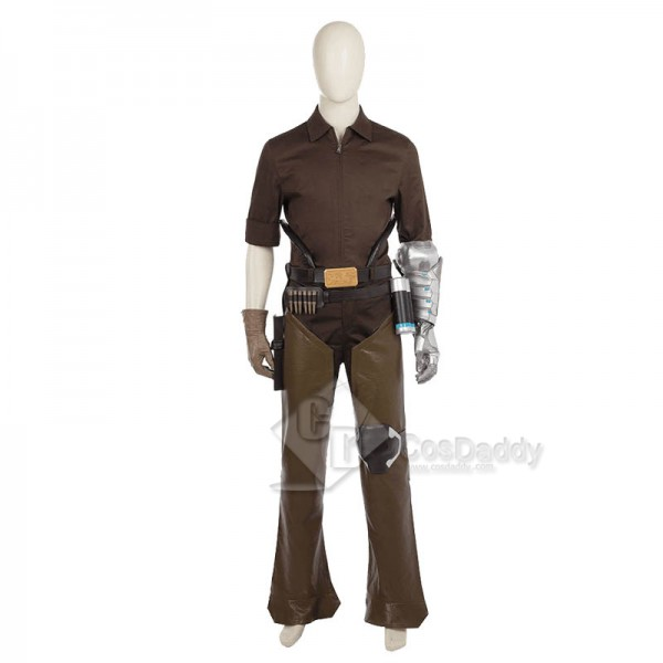 Overwatch OW Jesse Mccree Cosplay Costume