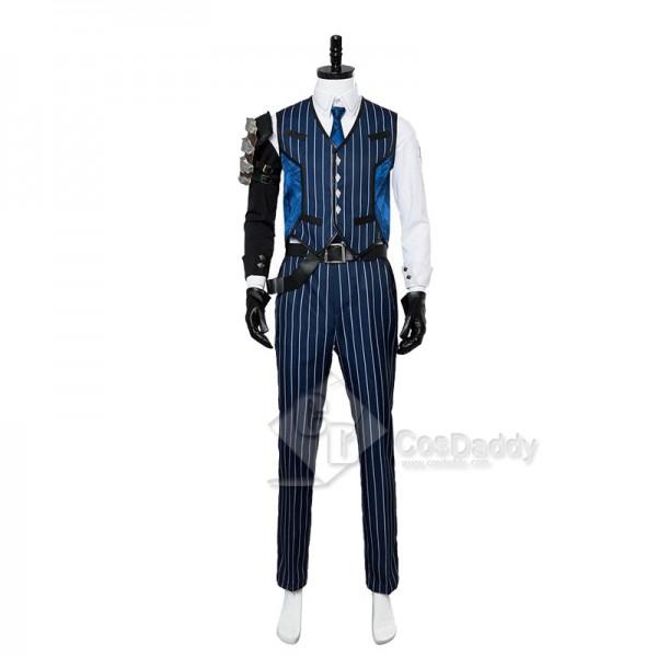 Overwatch OW Shimada Hanzo Suit Cosplay Costume