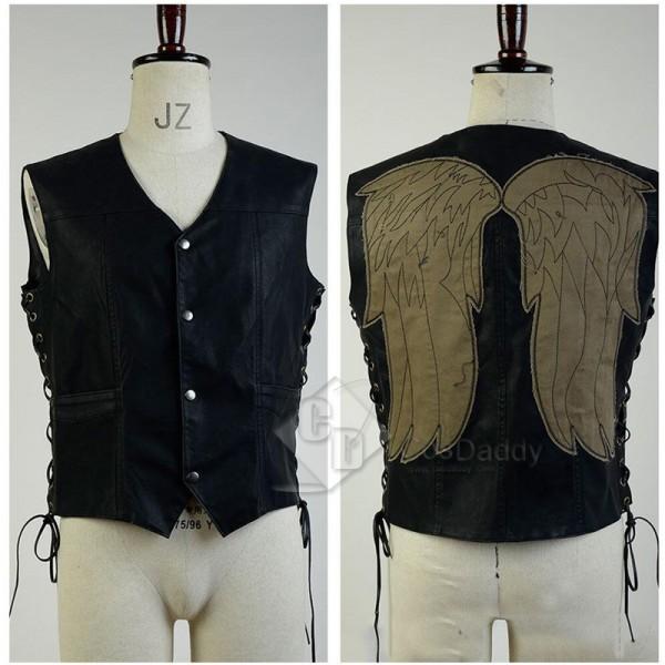 The Walking Dead Daryl Dixon Vest Jacket Cosplay Costume