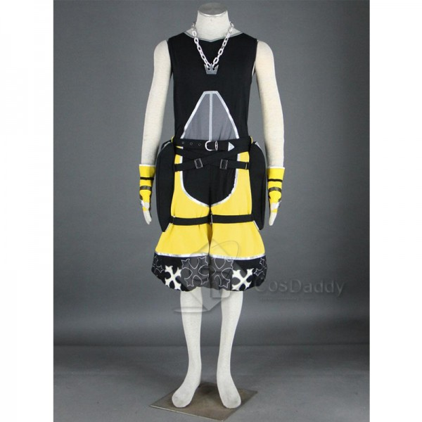 Kingdom Hearts Sora Outfit Yellow Cosplay Costume